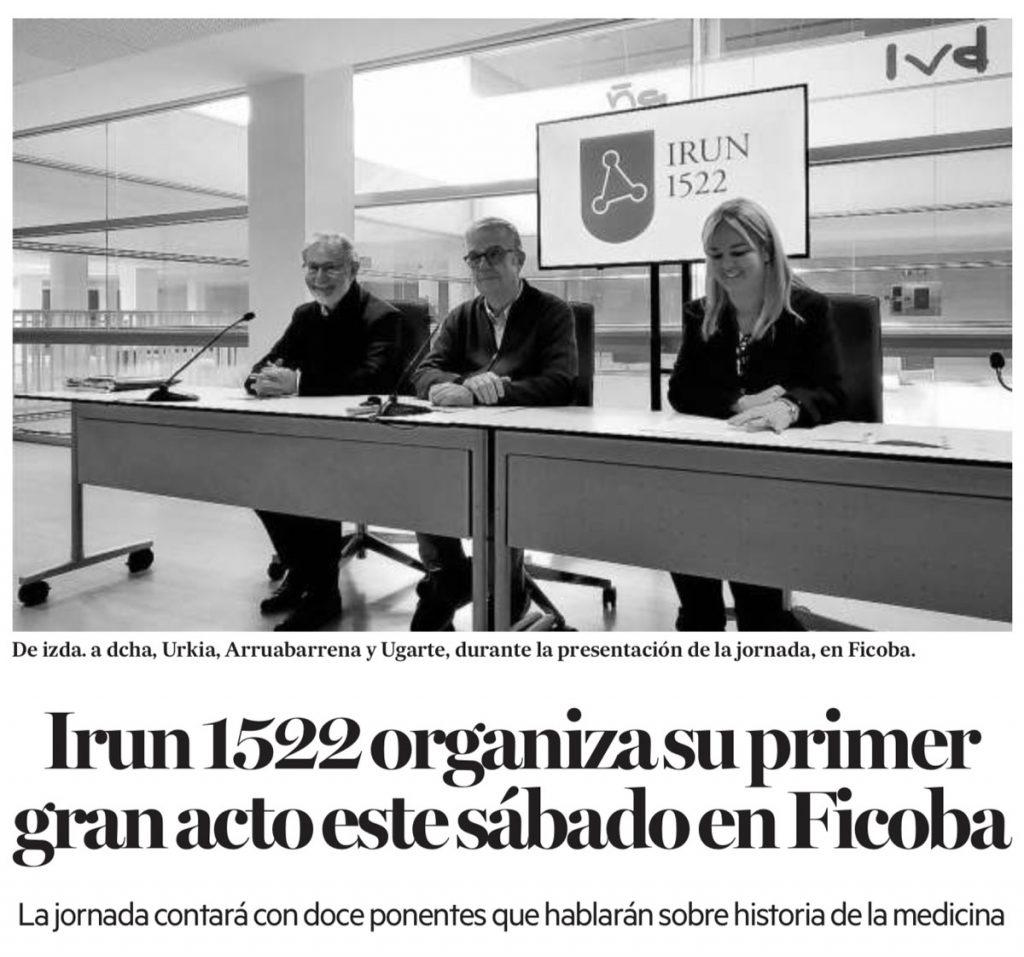 Recorte de prensa Noticias de Gipuzkoa
