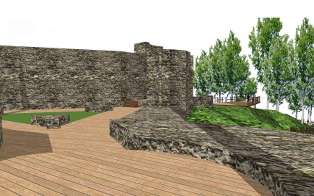 Irun 1522 recibe una subvención de Gobierno Vasco para el proyecto de adecuación del entorno de Gazteluzar