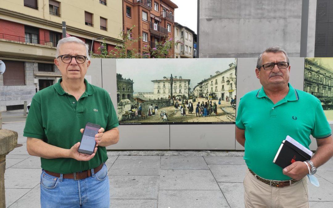 La Fundación Irun 1522 presenta el proyecto 'Por los caminos de 1522' y lanza una aplicación móvil gratuita para visitar virtualmente Gazteluzar