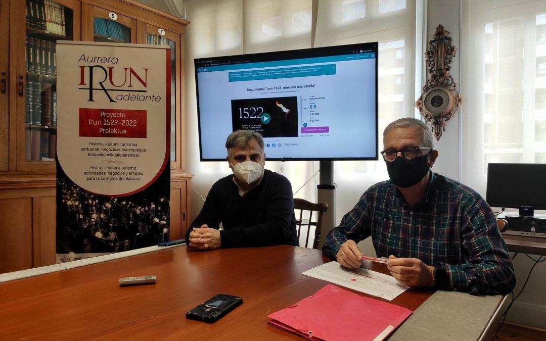 La Fundación Irun 1522 lanza una campaña de microfinanciación para realizar un documental sobre la batalla de San Marcial